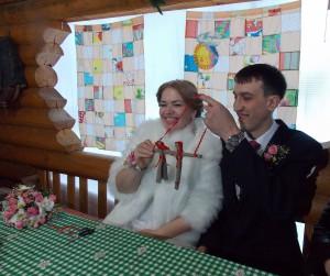 декабрь2015 изготовление кукол-неразлучников